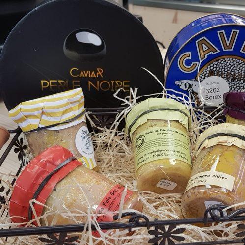 Caviar et foie gras