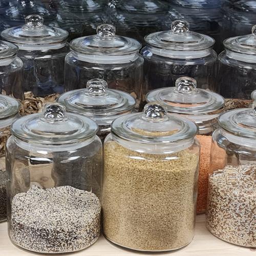Légumineuses, champignons et fruits secs